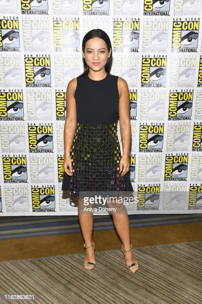 Natalia Reyes at the press line for Terminator Dark Fate at 2019 ComicCon International Day 1 on July 18 2019 in San Diego California