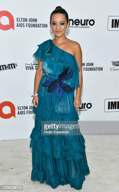 Natalia Reyes attends the 28th Annual Elton John AIDS Foundation Academy Awards Viewing Party Sponsored By IMDb And Neuro Drinks on February 09, 2020...