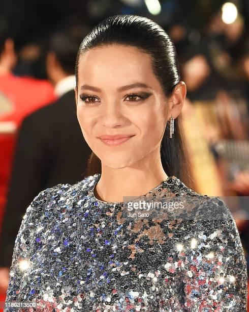 Natalia Reyes attends the Japan premiere of 'Terminator Dark Fate' on November 6 2019 in Tokyo Japan