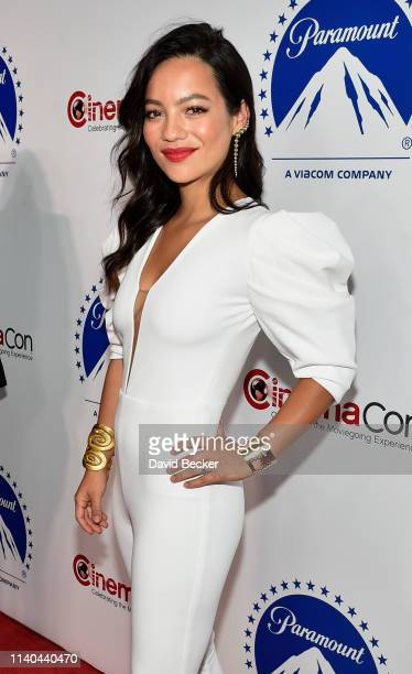 Natalia Reyes attends the Paramount Pictures CinemaCon® 2019 Presentation held at The Colosseum at Caesars Palace on April 04 2019 in Las Vegas Nevada