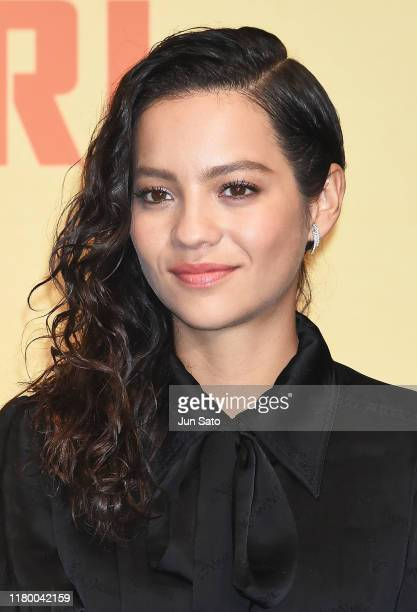 Natalia Reyes attends the press conference for the Japan premiere of 'Terminator Dark Fate' on November 5 2019 in Tokyo Japan
