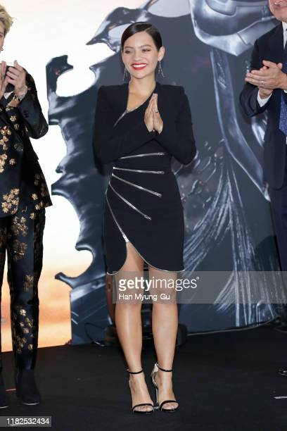 Natalia Reyes attends the Seoul premiere of 'Terminator Dark Fate' on October 21 2019 in Seoul South Korea The film will open on October 30 in South...