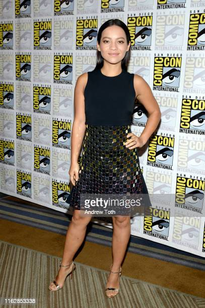 Natalia Reyes attends the Terminator Dark Fate Red Carpet at San Diego ComicCon 2019 on July 18 2019 in San Diego California