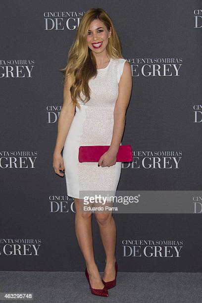 Natalia Rodriguez attends '50 Shades of Grey' premiere at Callao City Lights cinema on February 12 2015 in Madrid Spain