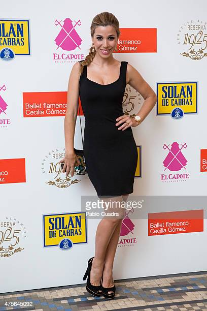 Natalia Rodriguez attends the 'Chavela' premiere at the Reina Victoria theatre on June 2 2015 in Madrid Spain