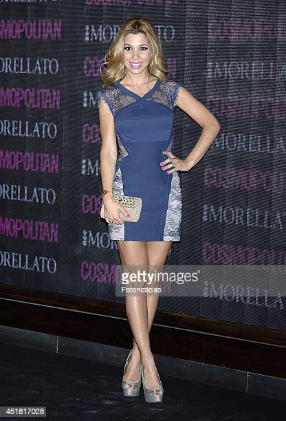 Natalia Rodriguez attends the Cosmopolitan Beauty Awards at Platea Restaurant on July 7 2014 in Madrid Spain