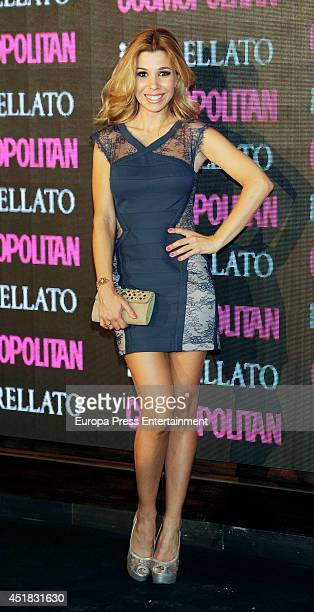 Natalia Rodriguez attends the Cosmopolitan Beauty Awards on July 7 2014 in Madrid Spain