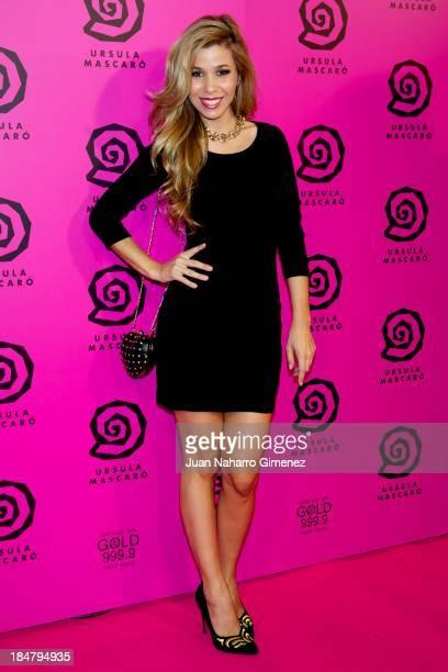 Natalia Rodriguez attends Ursula Mascaro opening store at Ursula Mascaro store on October 16 2013 in Madrid Spain