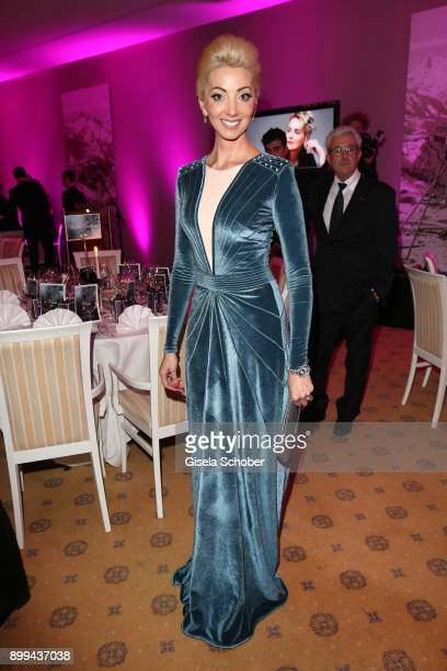 Natalia Rotenberg during the charity gala benefiting 'Planet Hope' foundation at Kempinski Grand Hotel des Bains on December 28 2017 in St Moritz...