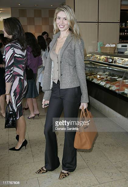 Natalia Safran during Frederic Malle Fragrance Launch Breakfast at Barneys New York in Beverly Hills at Barney's Greengrass in Beverly Hiils...