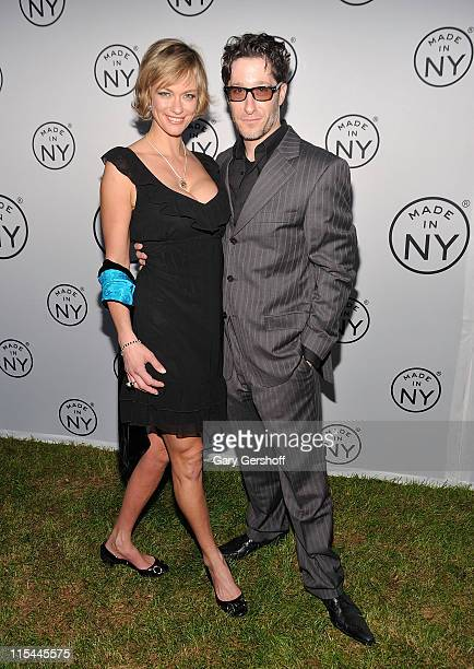 Natalia Sokolova and comedian/actor Jae Benjamin attend the 6th annual Made In NY awards at Gracie Mansion on June 6 2011 in New York City