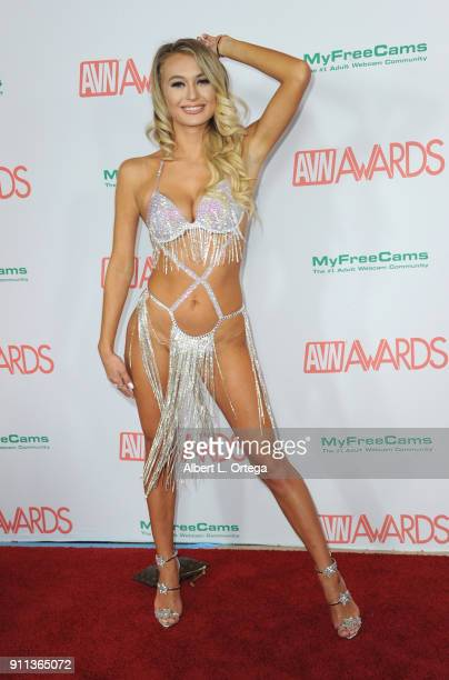 Natalia Starr attends the 2018 Adult Video News Awards held at Hard Rock Hotel Casino on January 27 2018 in Las Vegas Nevada