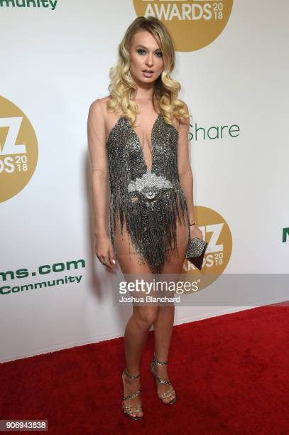 Natalia Starr attends the 2018 XBIZ Awards on January 18 2018 in Los Angeles California