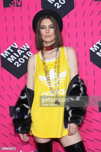 Natalia Subtil attends the MTV MIAW Awards 2018 at Arena Ciudad de Mexico on June 2 2018 in Mexico City Mexico