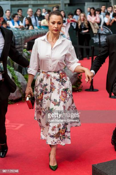 Natalia Verbeke attends the 'Jurassic World Fallen Kindom' premiere at Wizink Center on May 21 2018 in Madrid Spain