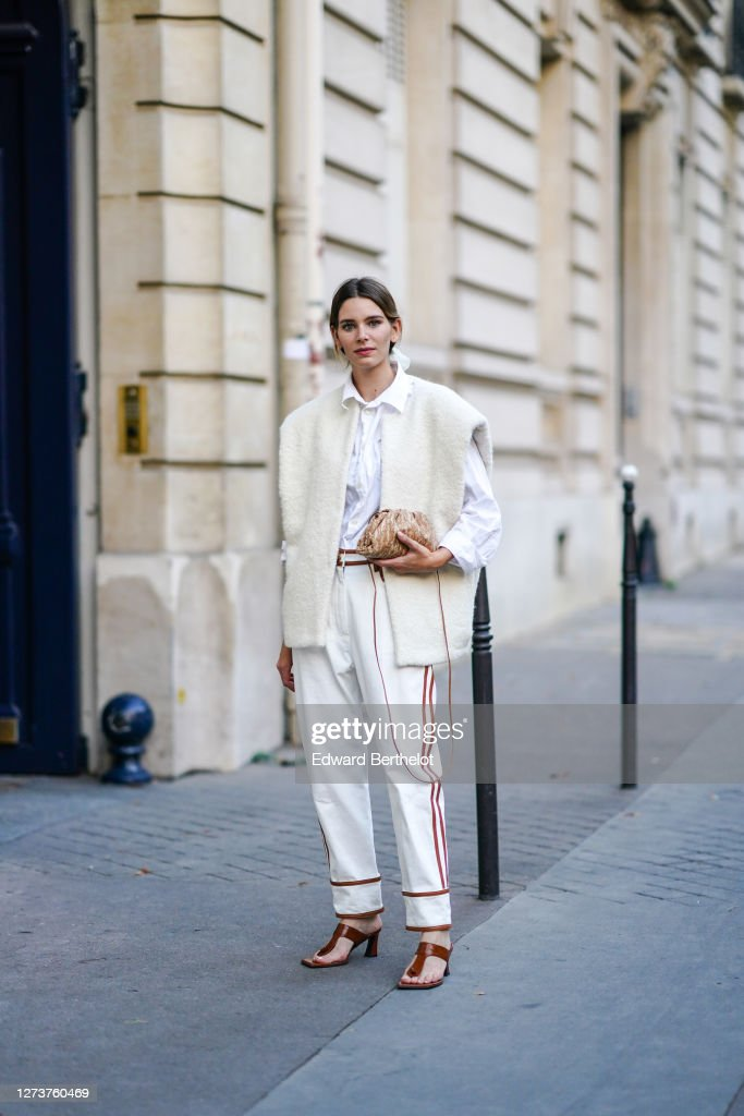 Fashion Photo Session In Paris - September 2020 : News Photo