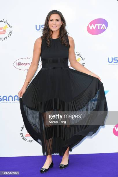 Natalia Vikhlyantseva attends the WTA's 'Tennis On The Thames' evening reception at Bernie Spain Gardens South Bank on June 28, 2018 in London,...