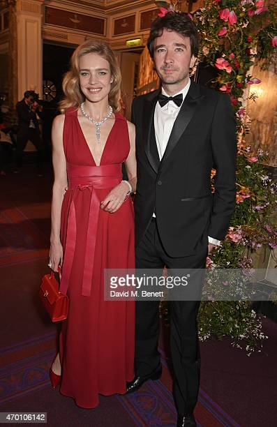 Natalia Vodianova and Antoine Arnault attend The Backstage Gala in aid of The Naked Heart Foundation at The London Coliseum on April 17 2015 in...