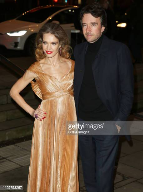 Natalia Vodianova and Antoine Arnault attend the Fabulous Fund Fair as part of London Fashion Week event