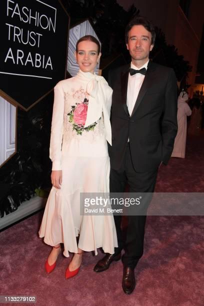Natalia Vodianova et son compagnon Antoine Arnault