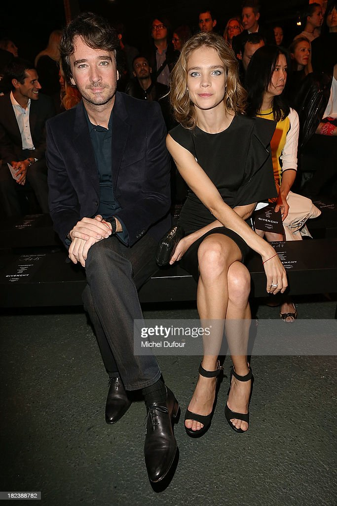 Natalia Vodianova and Antoine Arnault attend the Givenchy show as part of the Paris Fashion Week Womenswear Spring/Summer 2014 on September 29, 2013 in Paris, France.
