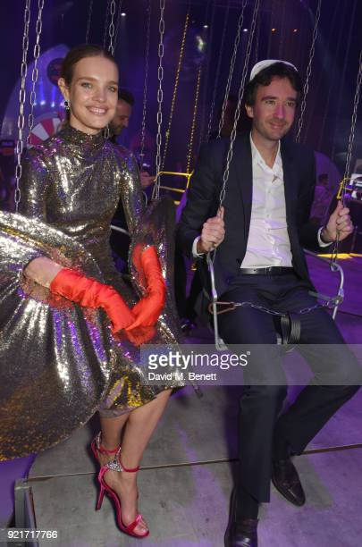 Natalia Vodianova and Antoine Arnault attend the Naked Heart Foundation's Fabulous Fund Fair at The Roundhouse on February 20 2018 in London England