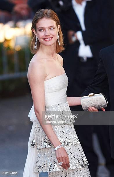 Natalia Vodianova arrives at amfAR's Cinema Against AIDS 2008 benefit held at Le Moulin de Mougins during the 61st International Cannes Film Festival...