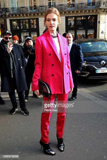 Natalia Vodianova arrives at the Berluti Menswear Fall/Winter 20192020 show as part of Paris Fashion Week on January 18 2019 in Paris France