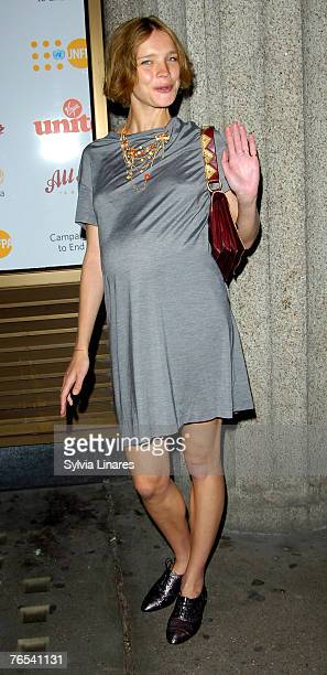 Natalia Vodianova at the Virgin Unite Campaign to End Fistula Celebrity Bowl Off September 5, 2007 at All Star Lanes in London, England.