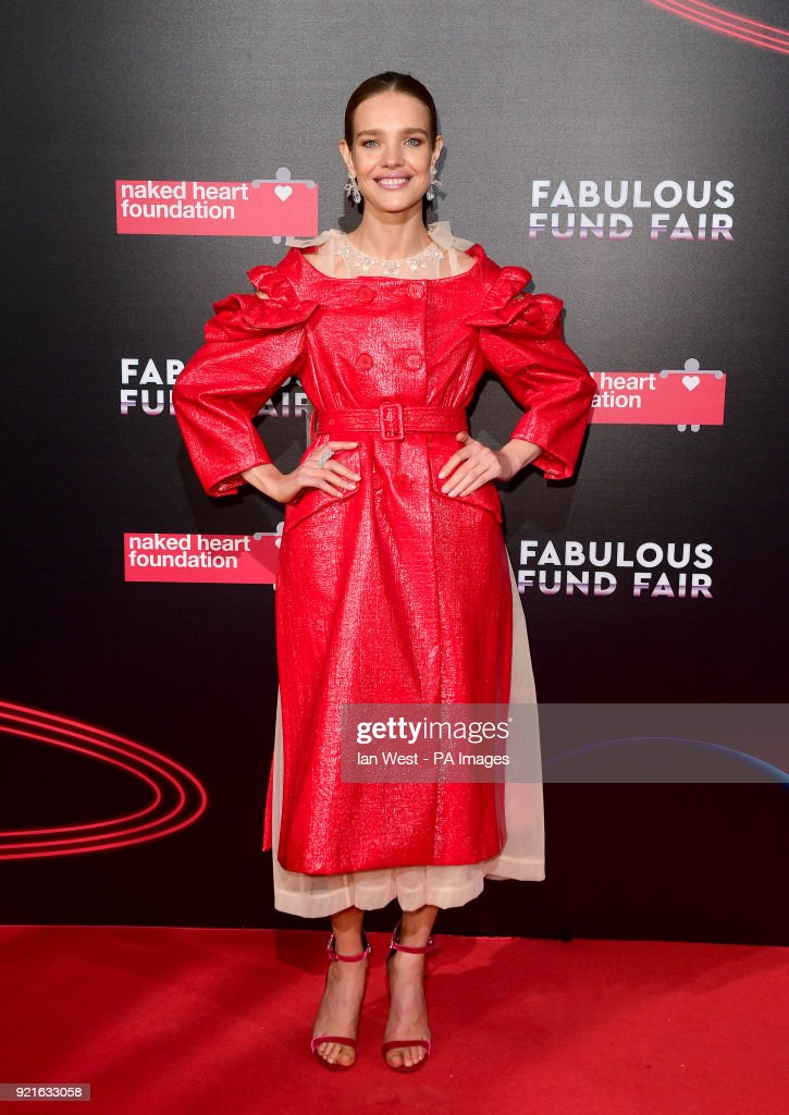 Natalia Vodianova attending the Naked Heart Foundation Fabulous Fun dFair held at The Roundhouse in Chalk Farm, London.