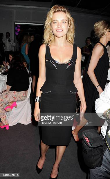 Natalia Vodianova attends an after party following the Glamour Women of the Year Awards in association with Pandora at Berkeley Square Gardens on May...