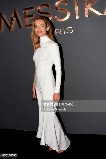 Natalia Vodianova attends Messika cocktail as part of the Paris Fashion Week Womenswear Spring/Summer 2018 on September 27 2017 in Paris France