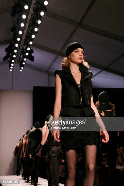 Natalia Vodianova attends NICOLE MILLER Fall 2010 Collection at Bryant Park Tents on February 12 2010 in New York City