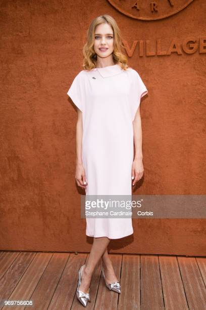 Natalia Vodianova attends the 2018 French Open Day Thirteen at Roland Garros on June 8 2018 in Paris France