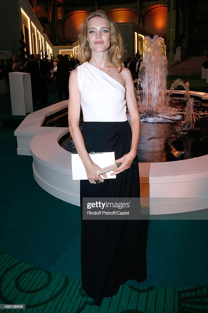 Natalia Vodianova attends the 27th 'Biennale des Antiquaires' Pre Opening at Le Grand Palais on September 9, 2014 in Paris, France.