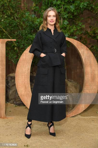 Natalia Vodianova attends the Christian Dior Womenswear Spring/Summer 2020 show as part of Paris Fashion Week on September 24, 2019 in Paris, France.