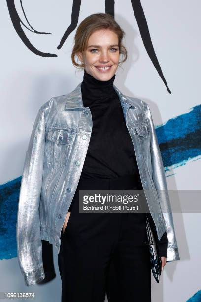 Natalia Vodianova attends the Dior Homme Menswear Fall/Winter 20192020 show as part of Paris Fashion Week on January 18 2019 in Paris France