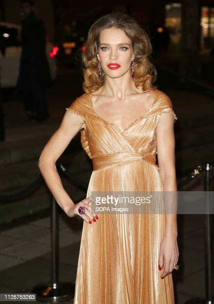 Natalia Vodianova attends the Fabulous Fund Fair as part of London Fashion Week event