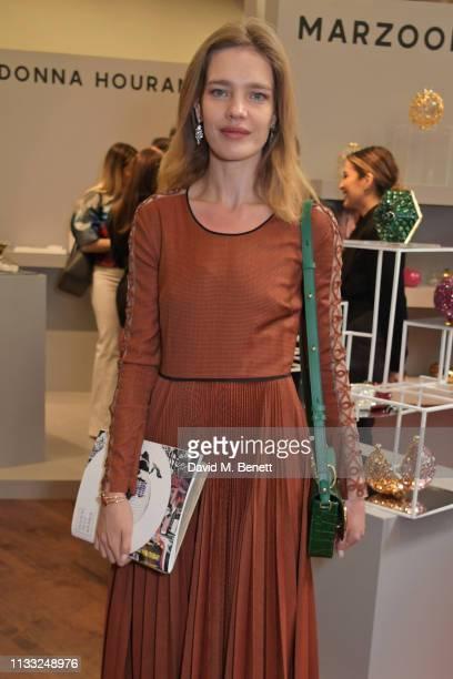 Natalia Vodianova attends the Fashion Trust Arabia Prize Judging Day on March 28, 2019 in Doha, Qatar.
