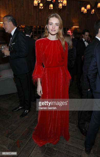 Natalia Vodianova attends the gala dinner during #BoFVOICES on December 1 2017 in Oxfordshire England