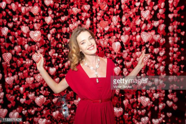Natalia Vodianova attends the Love Ball in aid of the Naked Heart Foundation and Al Shafallah at Museum of Islamic Art on March 29 2019 in Doha Qatar