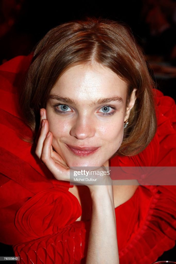 Natalia Vodianova attends the Sidaction Diner de la mode 2008, during Paris Fashion Week (Haute Couture) Spring-Summer 2008 on January 24, 2008 at pavillon d Armenonville in Paris, France.
