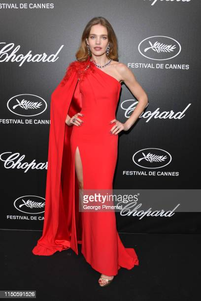 Natalia Vodianova attends the The Chopard Trophy event during the 72nd annual Cannes Film Festival on May 20 2019 in Cannes France