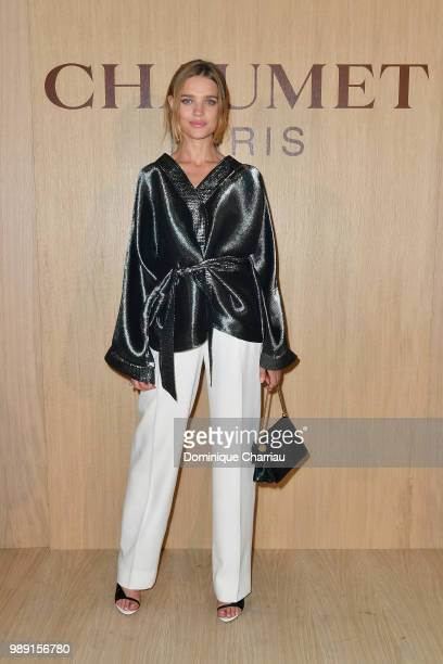 Natalia Vodianova attends the 'Tresors d'Afrique' Unvelling Of Chaumet High Jewelry Party as part of Haute Couture Paris Fashion Week on July 1 2018...