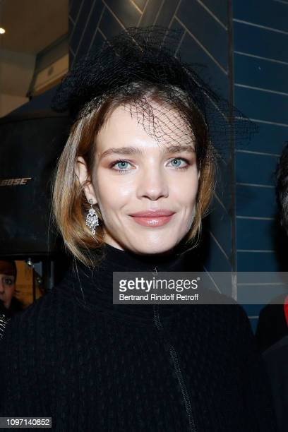 Natalia Vodianova attends the Tribute To Azzedine Alaia as part of Paris Fashion Week on January 20 2019 in Paris France