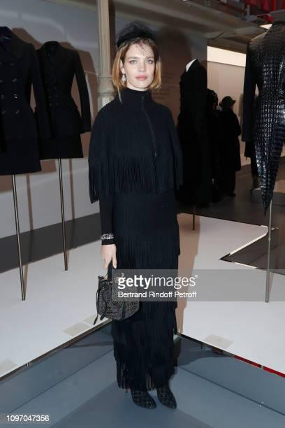 Natalia Vodianova attends the Tribute To Azzedine Alaia Paris Fashion Week Menswear F/W 20192020 on January 20 2019 in Paris France