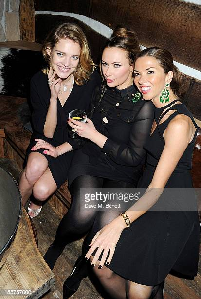 COVERAGE Natalia Vodianova Camilla Al Fayed and Heather Kerzner attend as Elizabeth Saltzman hosts a private dinner celebrating the launch of Piers...
