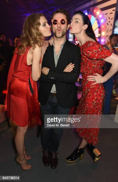 Natalia Vodianova Derek Blasberg and Erin O'Connor attend LondonÕs Fabulous Fund Fair hosted by Natalia Vodianova and Karlie Kloss in support of The...