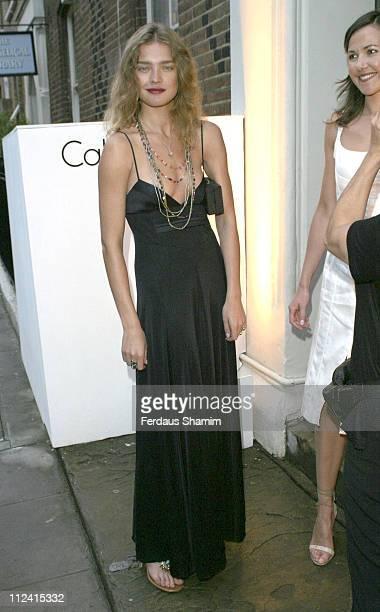 Natalia Vodianova during Calvin Klein Euphoria Fragrance Launch Party at Chiltern Street Studios in London Great Britain