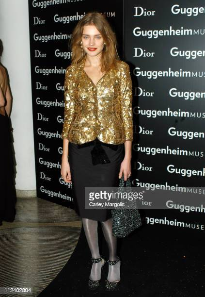 Natalia Vodianova during Dior Sponsors the Solomon R Guggenheim Museum's Young Collectors Council Artist's Ball Honoring Matthew Ritchie at...